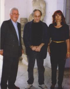 Foto Schifano- Dott. Domenico Tulino- Mario Schifano- Barbara P