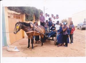 I figli di Angelo hanno un carretto ed un cavallo grazie a voi